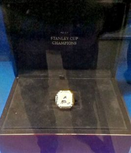 Nieminen's ring for the 2001 Stanley Cup champions